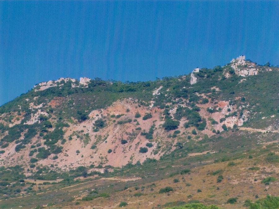 Yeni Foça şaphane. Yeni Foça (Foglia Nuova) şap madeni